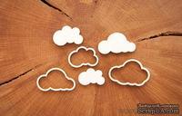 """Чипборд от WOODchic - """"Небо в облаках"""", 6 шт."""