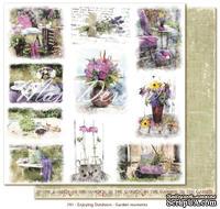 Лист бумаги для скрапбукинга от Maja Design - Garden moments, 30х30