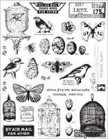 Набор акриловых штампов 7 Gypsies - Conservatory Collection