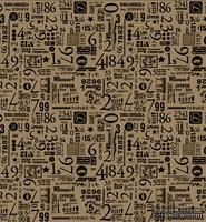 Папиросная бумага с рисунком 7 Gypsies Collage Tissue - Numero