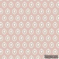 Ткань Tilda - Cameo White on Grey 100 % хлопок, 50х70 см