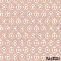 Ткань Tilda - Cameo White on Violet 100 % хлопок, 50х70 см