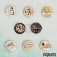 Деревянные пуговицы Prima - Everyday Vintage - Flair Buttons