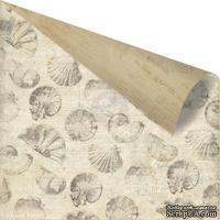 Лист скрапбумаги от Prima - Seashore - Sea Breeze, 30х30 см