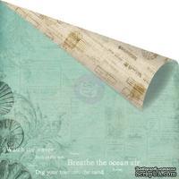 Лист скрапбумаги от Prima - Seashore- Under the Sea, 30х30 см