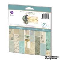 Набор бумаги от Prima - Seashore -  Paper Pad, 15 x 15 см