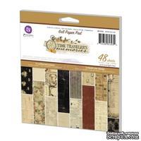 Набор бумаги от Prima - Time Traveler's Memories - Paper Pad, 15 х 15 см