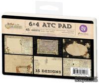 Набор карточек от Prima - Time Traveler's Memories - Journaling Card Pad, 45 шт.