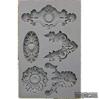 Молды силиконовые от Prima - Iron Orchid Designs Vintage Art Decor Mould - Escucheons #2 - ScrapUA.com