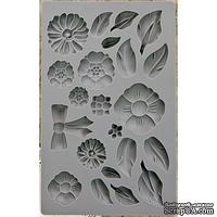 Молды силиконовые от Prima - Iron Orchid Designs Vintage Art Decor Mould - Rustic Fleur