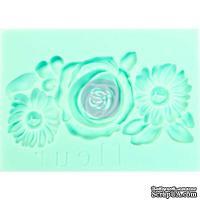 """Молды силиконовые  от Prima - Art Decor Mould 2.5""""X3.5"""" - Fleur"""