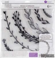 Штампы от IOD - Décor Stamps - Build a Wreath 12x12, 30x30 см
