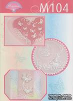 Набор схем для парчмент-крафта (пергамано), M104 Бабочки