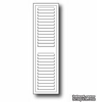 Нож для вырубки от Poppystamps - Grand Madison Window Shutter
