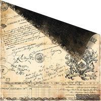 Лист скрапбумаги Prima Printery Col. Signature
