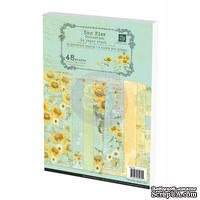ЦЕНА СНИЖЕНА! Набор бумаги Prima - Sun Kiss Collection Paper Pad, А4, 48 листов