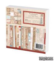 Набор бумаги Prima - En Francais Paper Pad, 15x15см, 48 листов