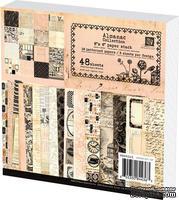 Набор бумаги Prima - Almanac Collection Paper Pad, 15x15см, 48 листов - ScrapUA.com