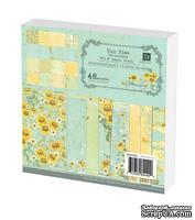 Набор бумаги Prima - Sun Kiss Collection Paper Pad, 15x15см, 48 листов
