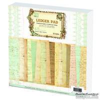 "Набор бумаги Prima - Ledger 12""x12"" Paper Pad, 30x30см, 48 листов"