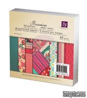 Набор бумаги от Prima - 6x6 Paper Pad Rosarian, размер: 15x15см, 48 листов