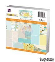 Набор бумаги от Prima - 6x6 Paper Pad - Lady Bird, размер: 15x15см, 48 листов