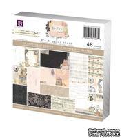 Набор бумаги от Prima - 6x6 Paper Pad - Lyric, размер: 15x15см, 48 листов