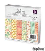 Набор бумаги от Prima - 6x6 Paper Pad - Believe, размер: 15x15см, 48 листов