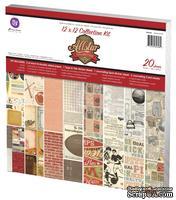 ЦЕНА СНИЖЕНА! Набор бумаги от Prima - Collection Kit, 30x30 см