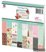 """Набор бумаги от Prima - Anna Marie- 6"""" x 6"""" Paper Pad"""