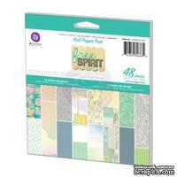 ЦЕНА СНИЖЕНА! Набор бумаги от Prima - Free Spirit- Pad, 15 х 15 см