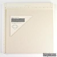СНЯТА с пр-ва Доска для сгибов Martha Stewart Scoring Board - 31 см