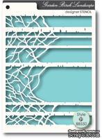 Маска от Memory Box -  STENCILS- Birch Landscape