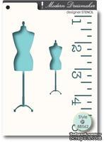 Маска от Memory Box -  STENCILS- Dressmaker