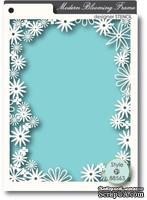 Маска от Memory Box -  STENCILS- Blooming Frame