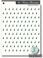 Маска от Memory Box -  STENCILS- Raindrops