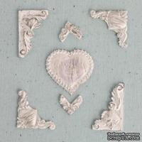 Набор украшений от Prima - Ingvild Bolme- Resin Heart