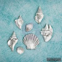 Гипсовые украшения от Prima - Ingvild Bolme- SeaShells Resins, 7 шт