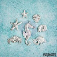 Гипсовые украшения от Prima - Ingvild Bolme- Sea Resins, 7 шт