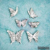 Гипсовые украшения от Prima - Ingvild Bolme- Butterfly Resins, 6 шт