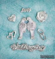 Гипсовые украшения от Prima - Ingvild Bolme- Wedding Resins, 7 шт