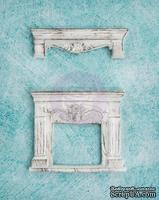 Гипсовые украшения от Prima - Ingvild Bolme- Fireplace Resins, 2 шт - ScrapUA.com