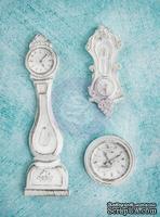 Гипсовые украшения от Prima - Ingvild Bolme- Clocks Resins, 3 шт.