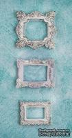 Гипсовые украшения от Prima - Ingvild Bolme- Square Frame Resins, 3 шт