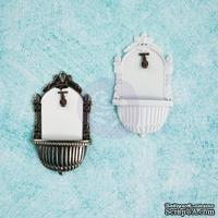 Гипсовые украшения от Prima - Ingvild Bolme- Antique Garden Zink, 3 шт