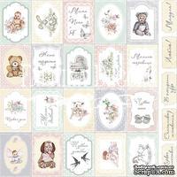 Набор картинок для декорирования Фабрика Декора - Карточки 1, Baby shabby, 01011-1