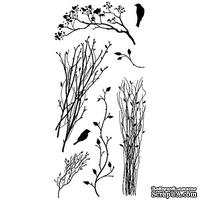 Набор акриловых штампов от Inkadinkado - Delicate Branches, 98974