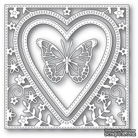 Ножи от Memory Box - Butterfly Heart Frame craft die