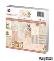 Набор бумаги от Prima - 6x6 Paper Pad - Fairy Rhymes, размер: 15x15см, 48 листов