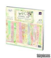 Набор бумаги от Prima - 12x12 Art Journal Paper Pad, размер: 30х30см, 48 листов